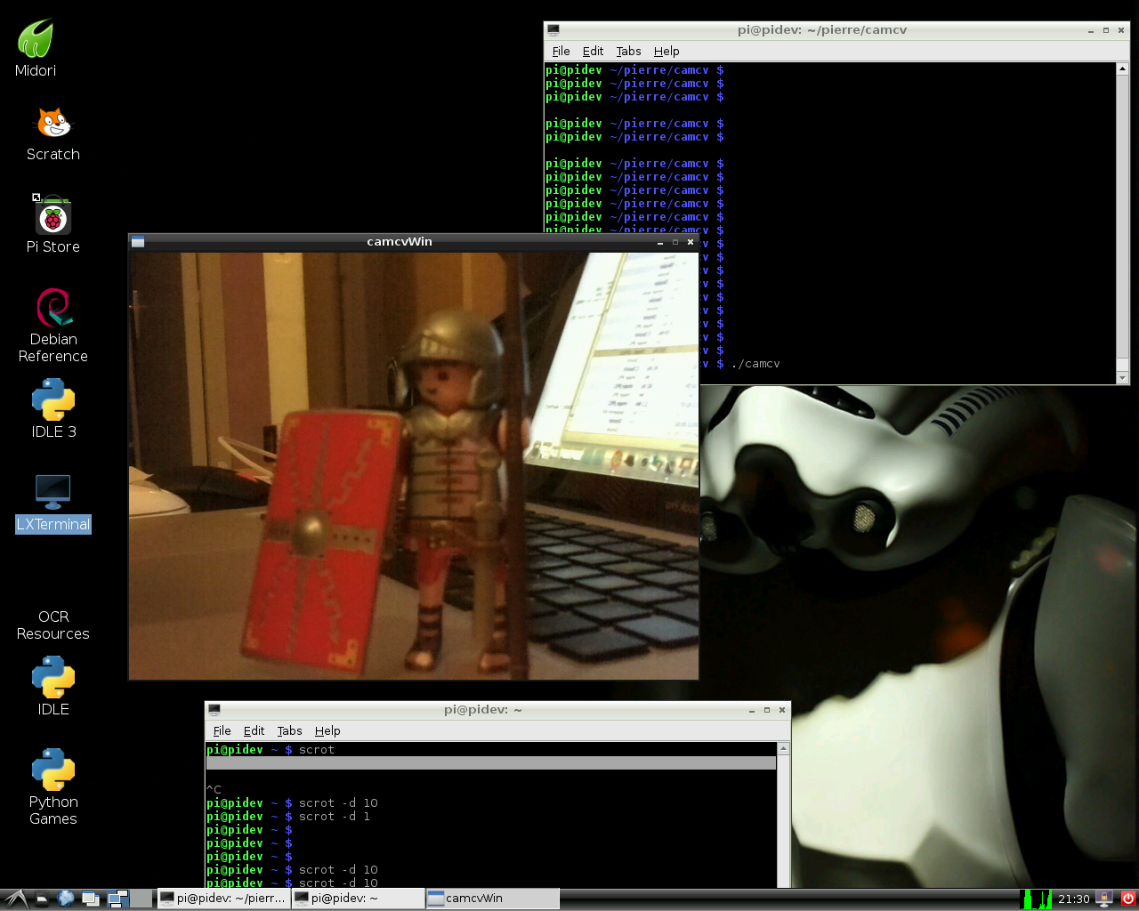 OpenCV&Pi Cam – Step 6 : Video ! | Think RPI